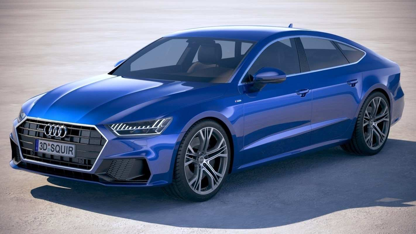 12 Concept of 2020 Audi A7 Engine with 2020 Audi A7