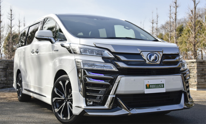 12 The Toyota Vellfire 2020 Photos with Toyota Vellfire 2020