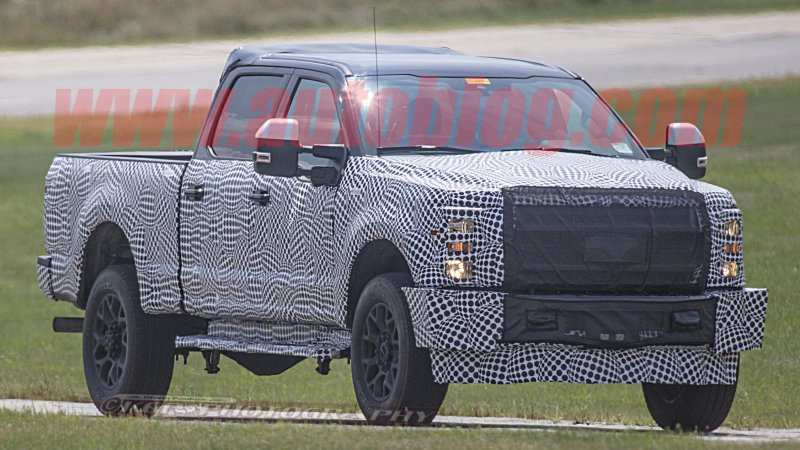 13 Great Spy Shots 2020 Ford F350 Diesel Redesign for Spy Shots 2020 Ford F350 Diesel