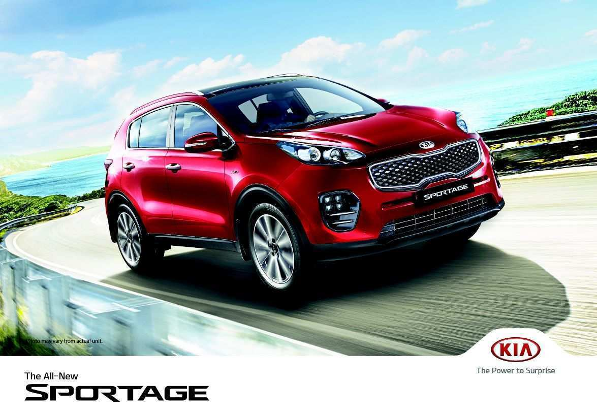 13 New 2020 Kia Sportage Brochure Spesification with 2020 Kia Sportage Brochure
