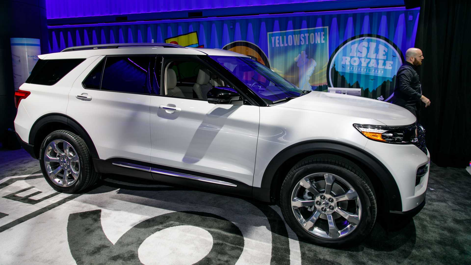13 The 2020 Ford Explorer Photos with 2020 Ford Explorer