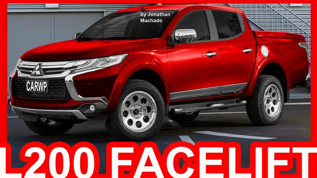 14 All New 2020 Mitsubishi L200 2018 Research New by 2020 Mitsubishi L200 2018