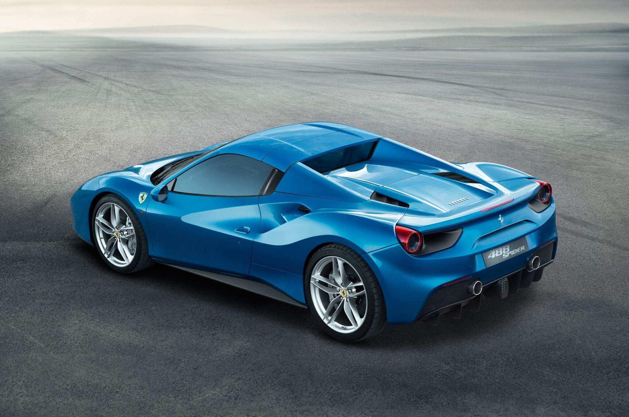 14 Concept of 2020 Ferrari 488 Spider Exterior Interior by 2020 Ferrari 488 Spider Exterior