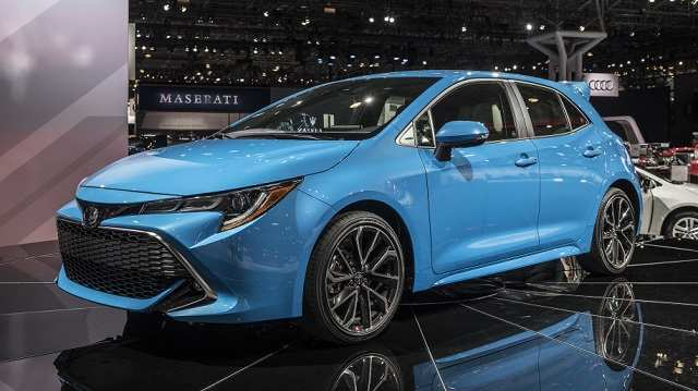 14 The 2020 Toyota Corolla Hatchback Interior for 2020 Toyota Corolla Hatchback