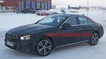 14 The Spy Shots 2020 Mercedes E Class Interior by Spy Shots 2020 Mercedes E Class