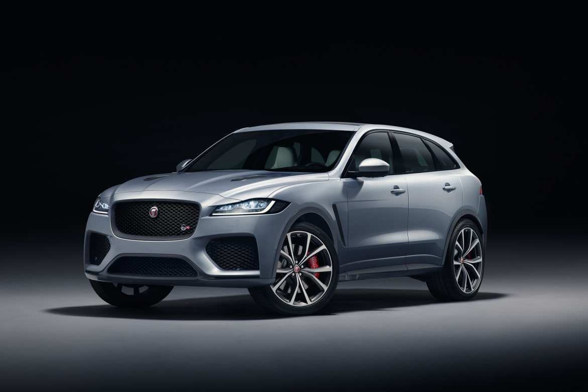 15 Great 2020 Jaguar F Pace Svr Exterior Picture for 2020 Jaguar F Pace Svr Exterior