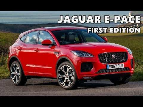 17 Best Review 2020 Jaguar I Pace First Edition Redesign and Concept by 2020 Jaguar I Pace First Edition