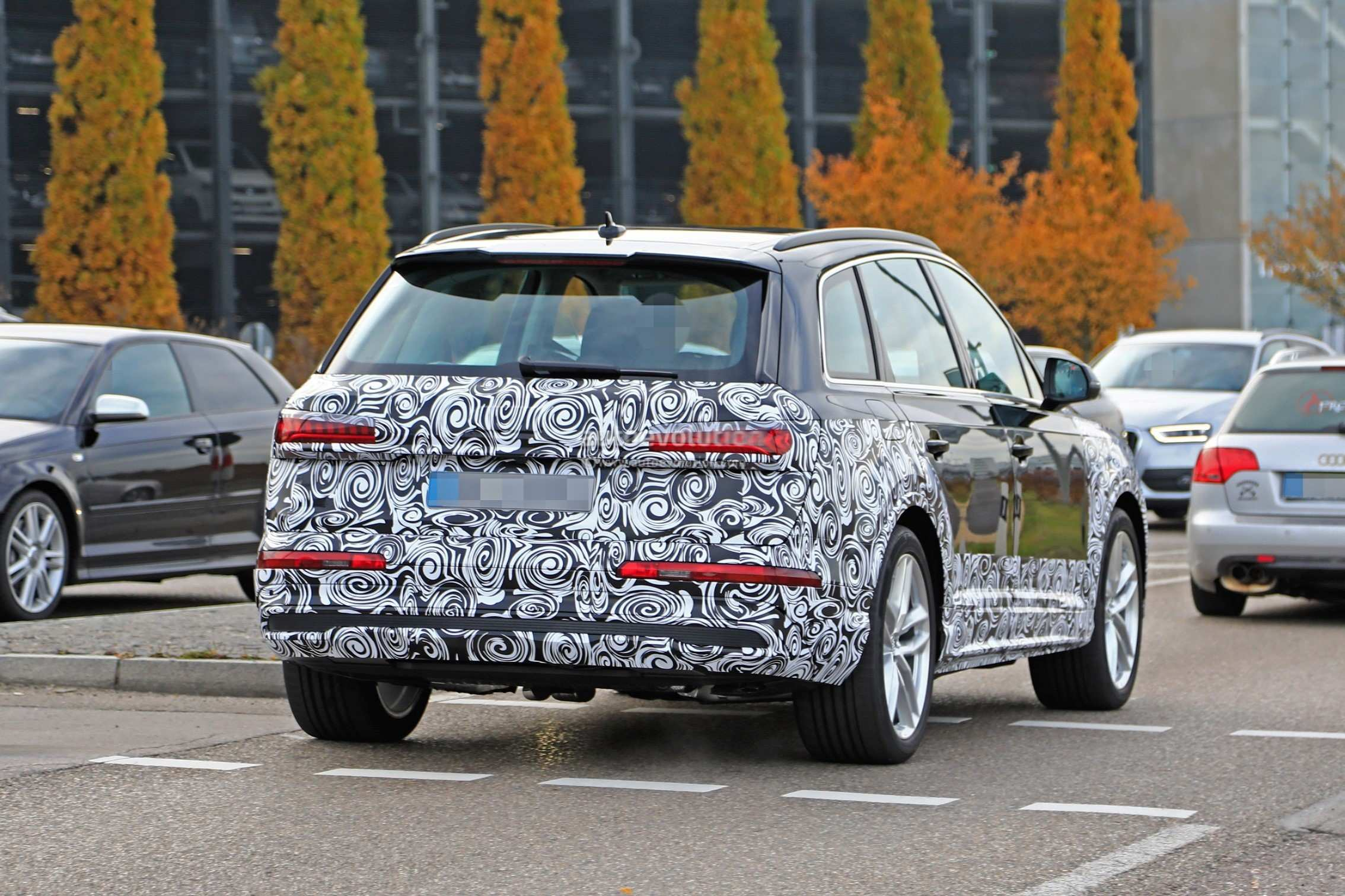 17 Gallery of 2020 Audi Q7 Spy Shoot with 2020 Audi Q7