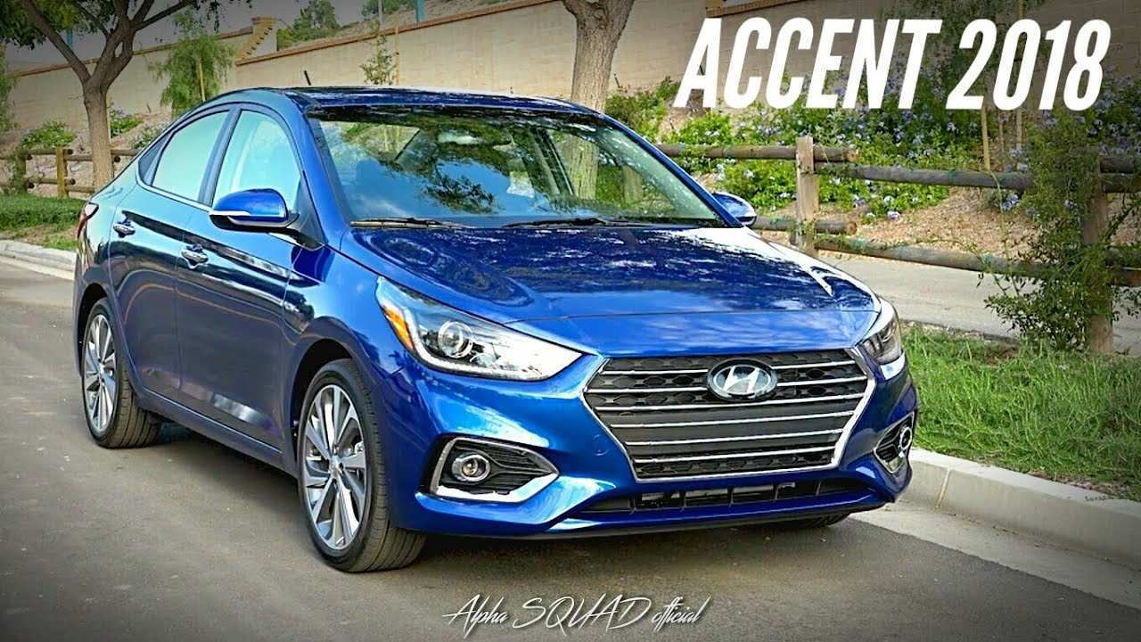17 Gallery of 2020 Hyundai Accent 2018 Redesign with 2020 Hyundai Accent 2018