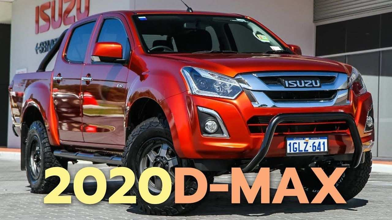 17 New 2020 Isuzu Dmax 2018 Overview by 2020 Isuzu Dmax 2018