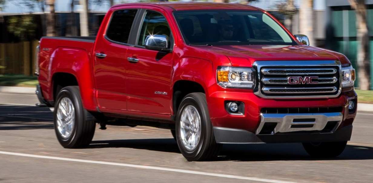 18 Concept of 2020 GMC Canyon Redesign and Concept with 2020 GMC Canyon