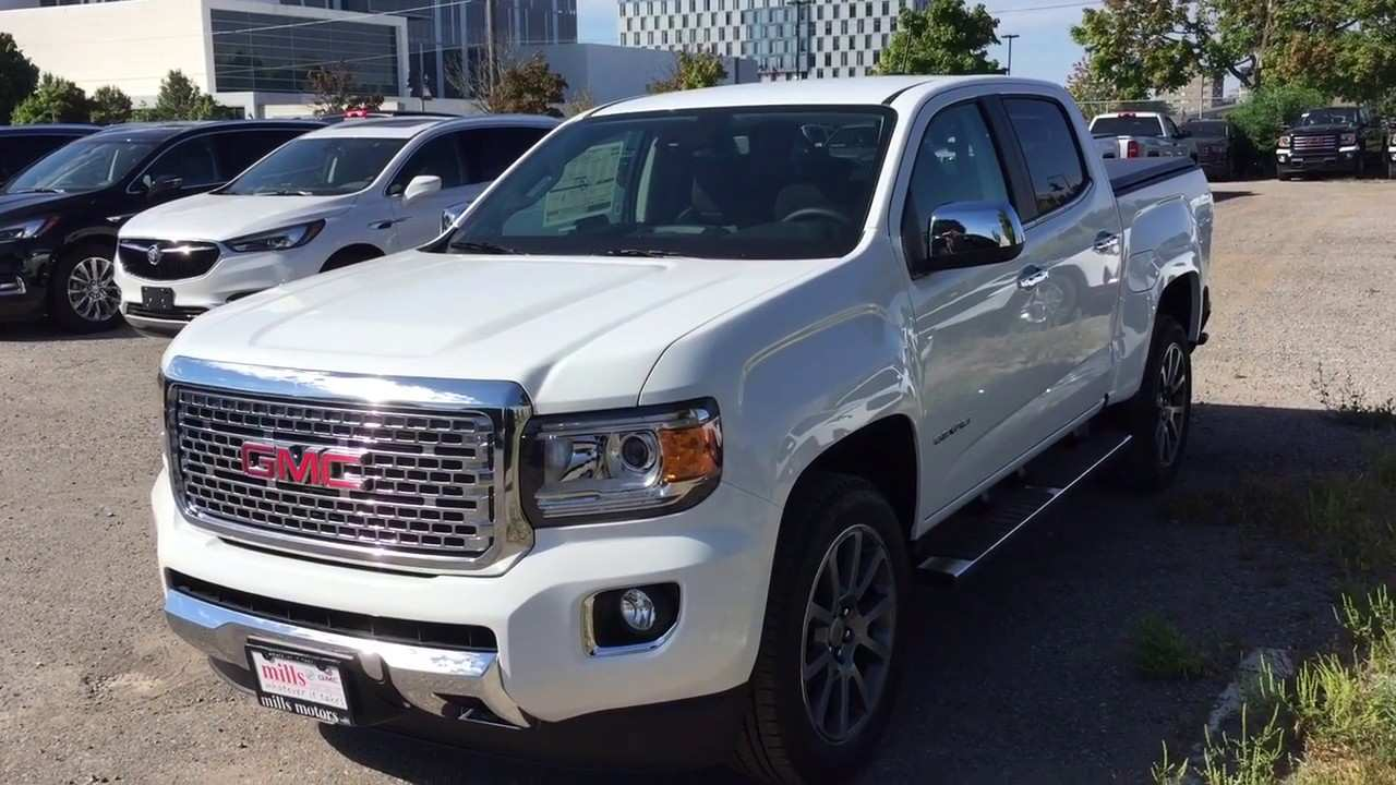 18 Concept of 2020 Gmc Canyon Diesel Overview for 2020 Gmc Canyon Diesel