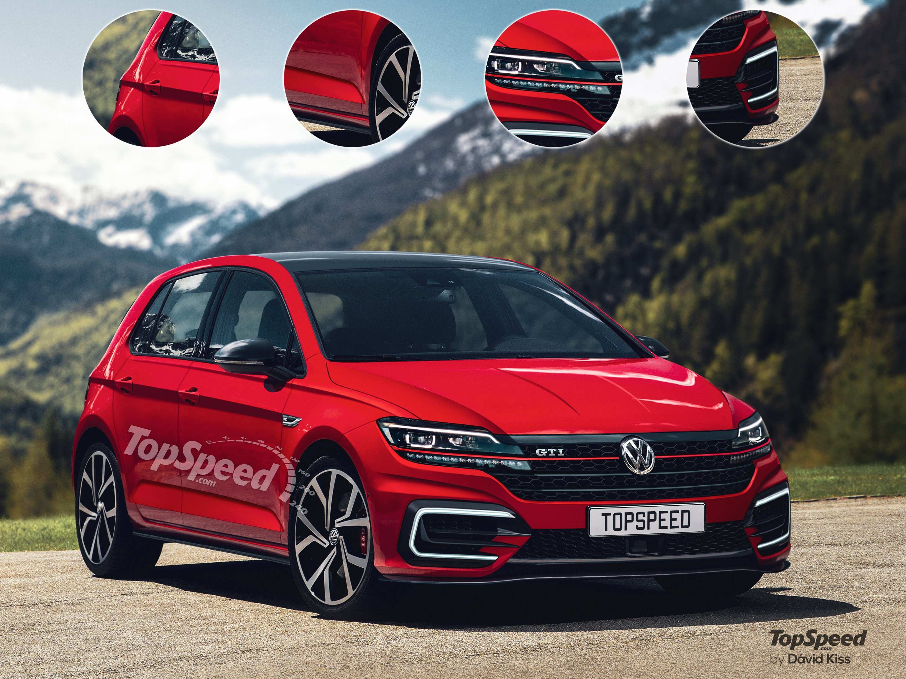 18 Concept of VW Golf Gti 2020 Model with VW Golf Gti 2020