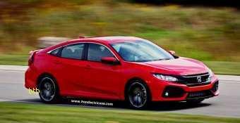 18 Great 2020 Honda Civic Si Sedan Redesign by 2020 Honda Civic Si Sedan