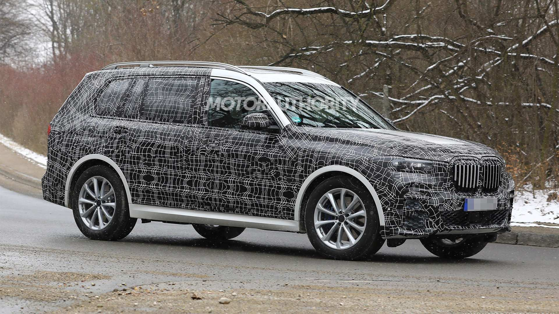 18 New 2020 BMW X7 Spy Shoot with 2020 BMW X7