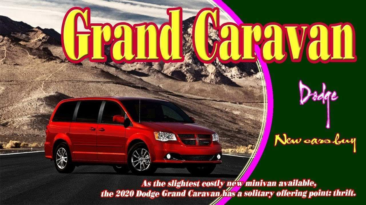 19 Best Review 2020 Dodge Caravan Speed Test with 2020 Dodge Caravan
