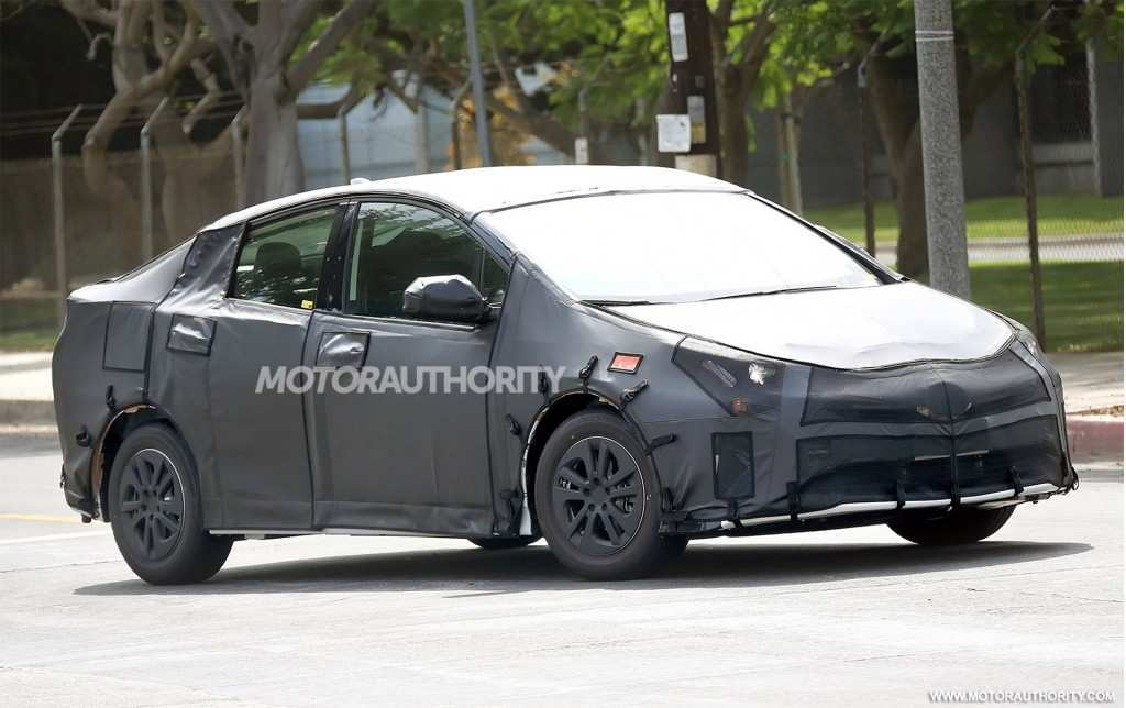 21 All New 2020 Spy Shots Toyota Prius New Review by 2020 Spy Shots Toyota Prius