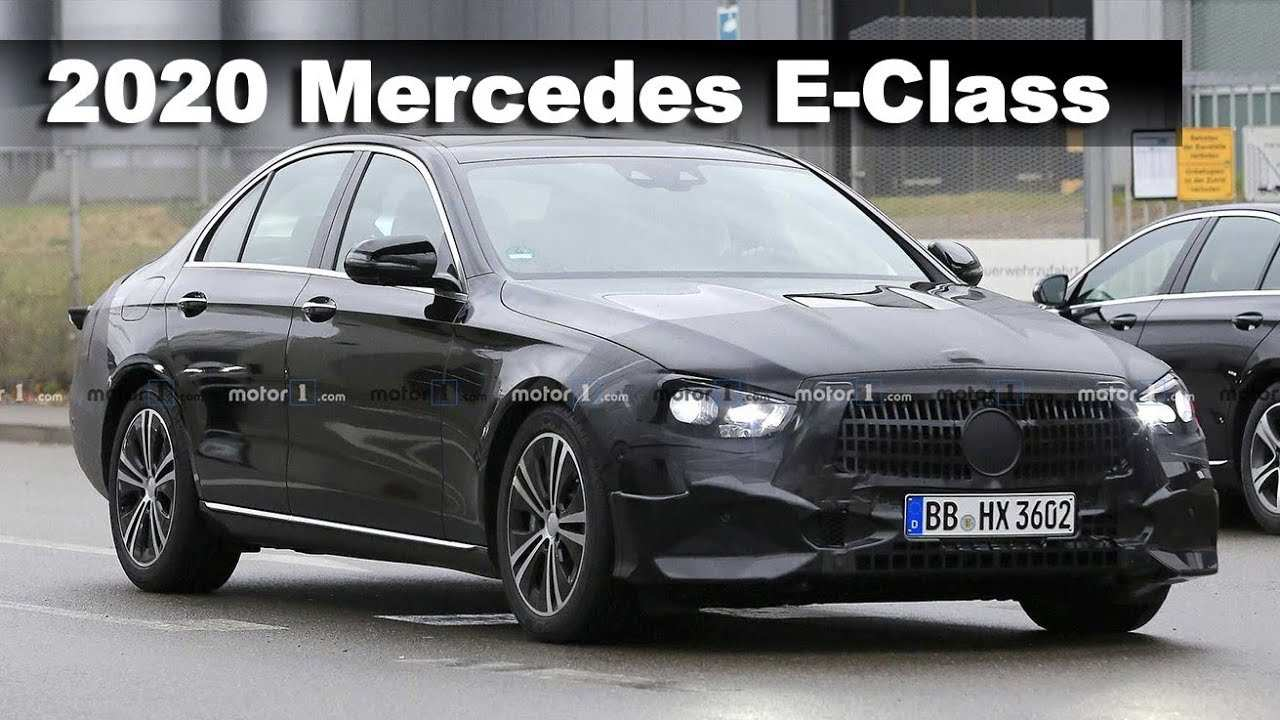 22 Concept of Mercedes E Class Facelift 2020 Overview for Mercedes E Class Facelift 2020