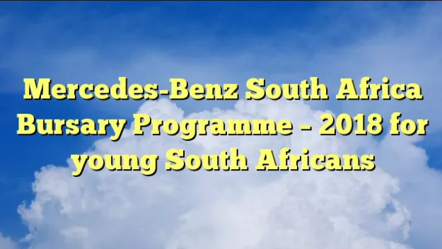 22 The Mercedes Benz Bursary 2020 Online Application Rumors with Mercedes Benz Bursary 2020 Online Application