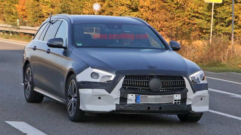 23 Gallery of Mercedes E Class Facelift 2020 Spy Shoot by Mercedes E Class Facelift 2020