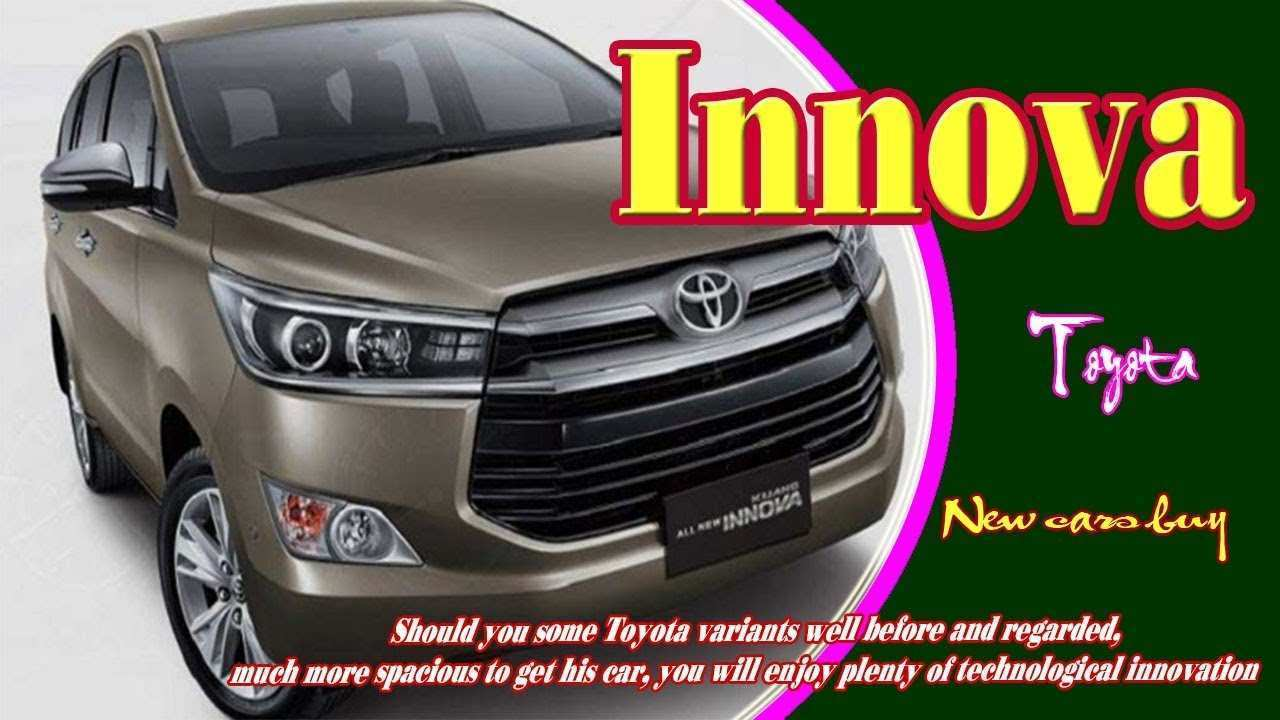 25 All New 2020 Toyota Innova 2018 Specs and Review for 2020 Toyota Innova 2018
