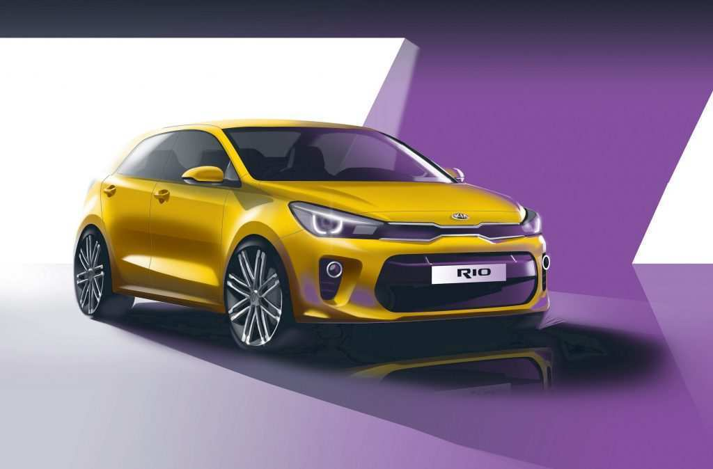 25 All New Kia Rio 2020 New Concept Spy Shoot with Kia Rio 2020 New Concept