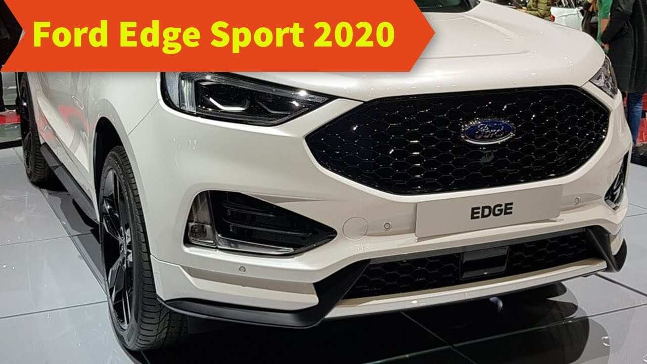 26 New 2020 Ford Edge Sport New Concept by 2020 Ford Edge Sport