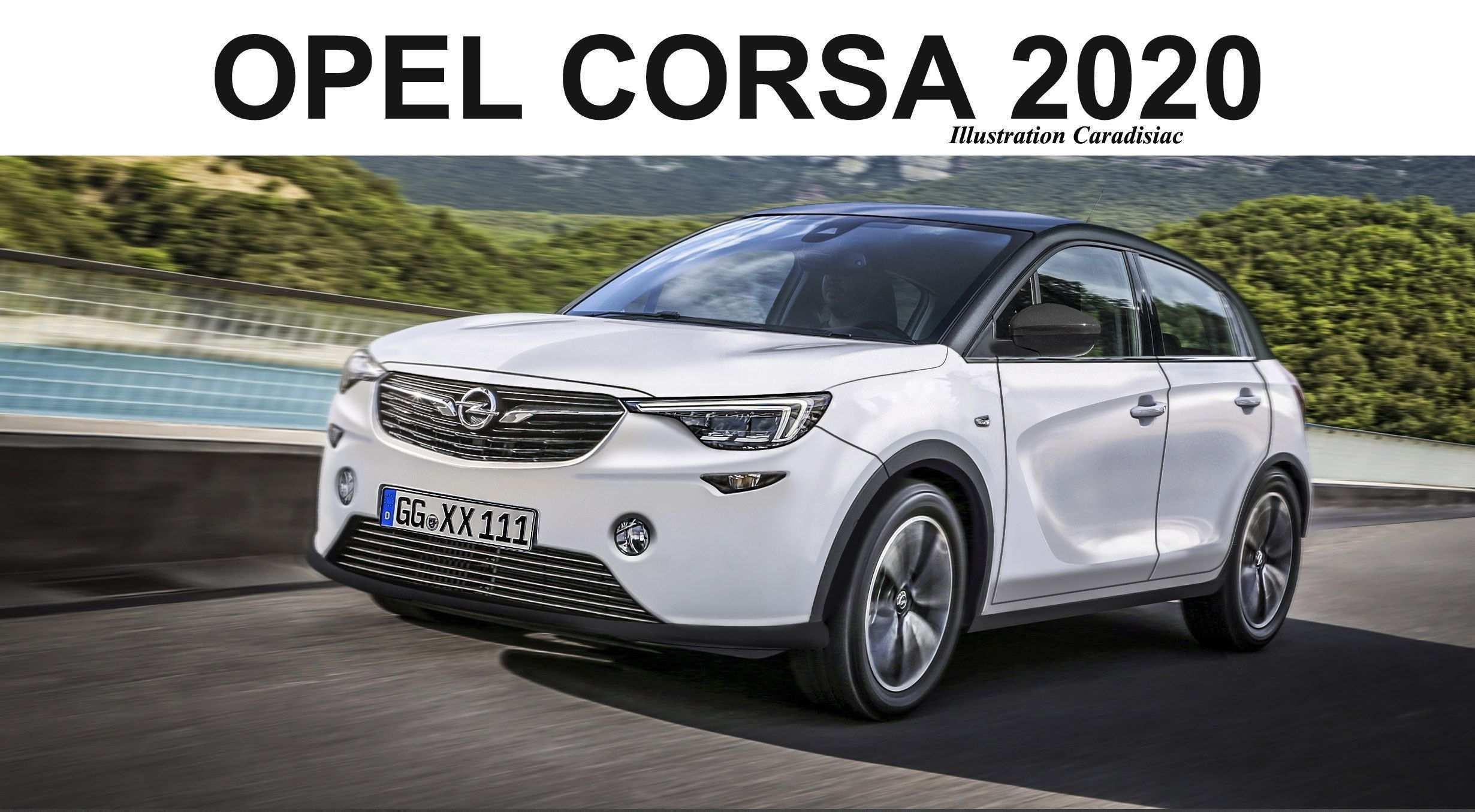 26 New 2020 Opel Corsa Specs by 2020 Opel Corsa