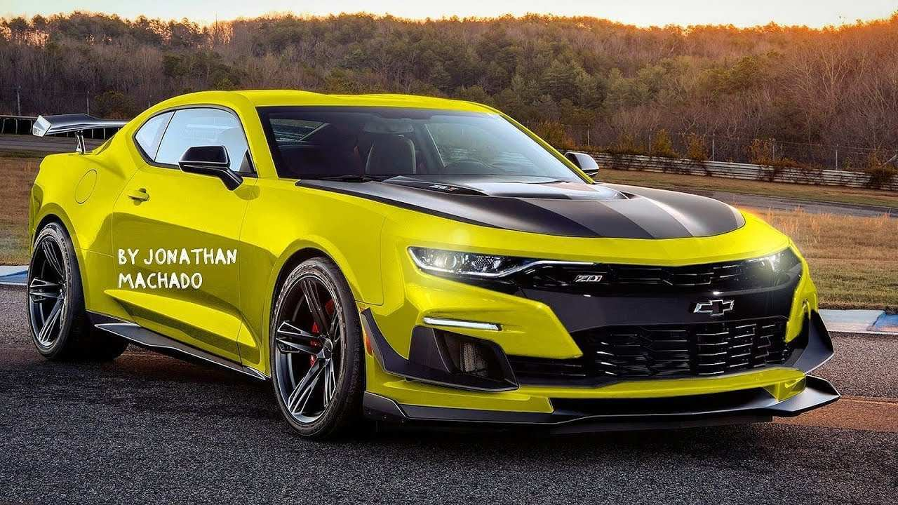 27 The 2020 Chevy Camaro Model with 2020 Chevy Camaro