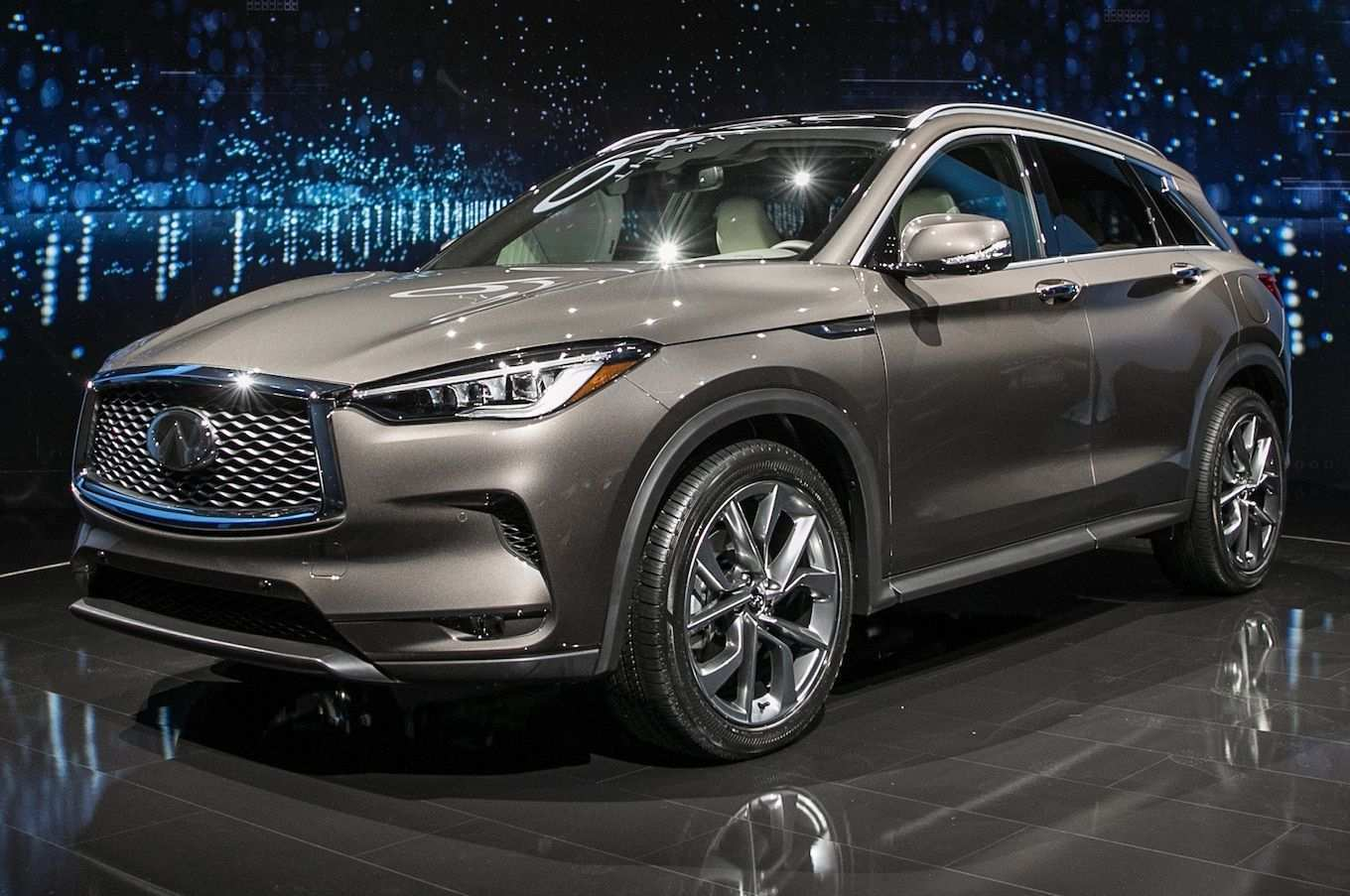 27 The 2020 Infiniti Qx50 Exterior Overview with 2020 Infiniti Qx50 Exterior