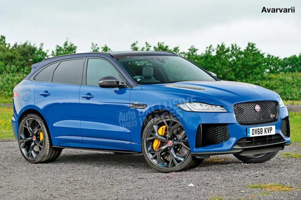 28 All New 2020 Jaguar F Pace Svr Review with 2020 Jaguar F Pace Svr