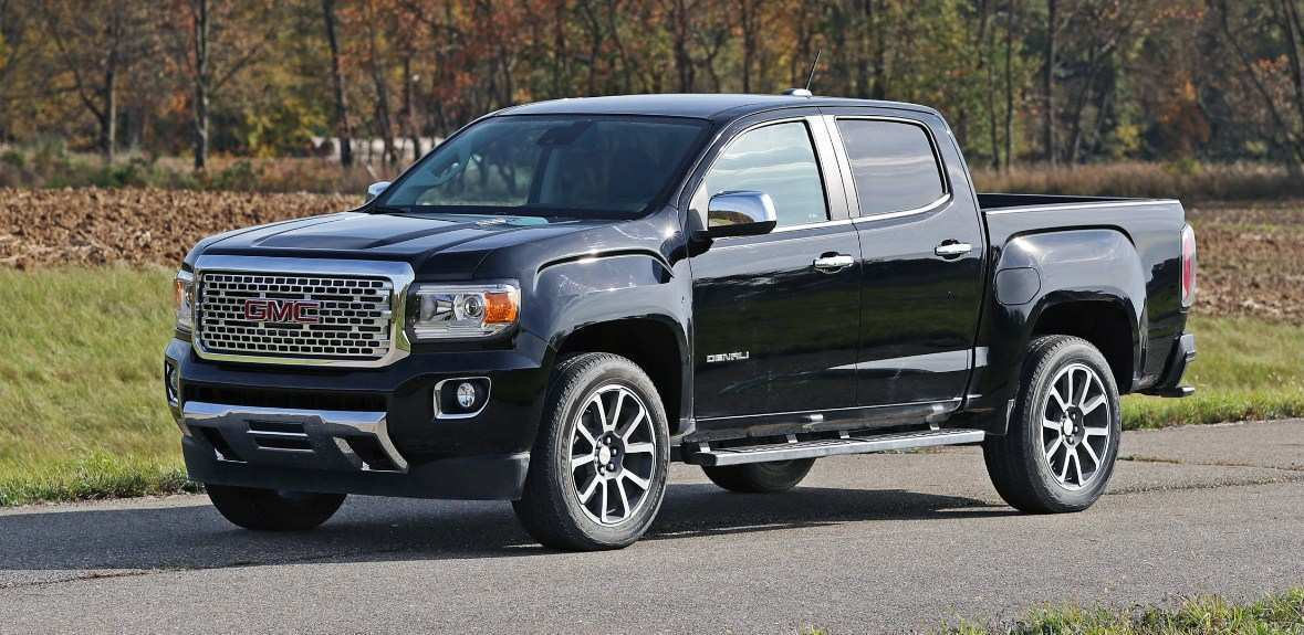 29 All New 2020 GMC Canyon Denali New Concept for 2020 GMC Canyon Denali