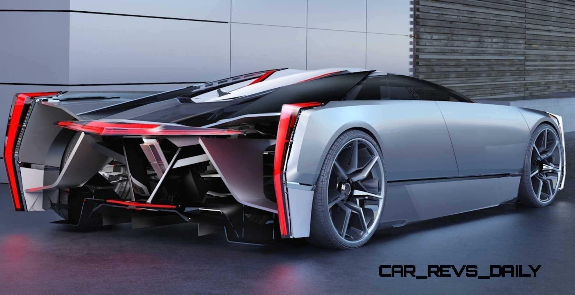 Innere 2020 Cadillac Ciana