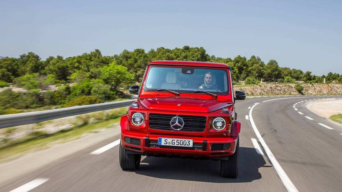 32 All New 2020 Mercedes G Wagon Exterior Specs and Review by 2020 Mercedes G Wagon Exterior