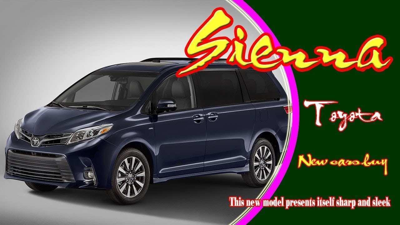 32 Best Review 2020 Toyota Sienna Interior with 2020 Toyota Sienna