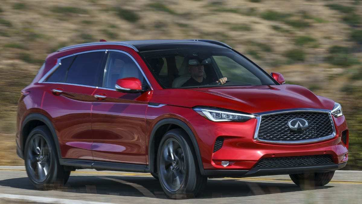 32 New 2020 Infiniti Qx50 Mpg Spy Shoot with 2020 Infiniti Qx50 Mpg