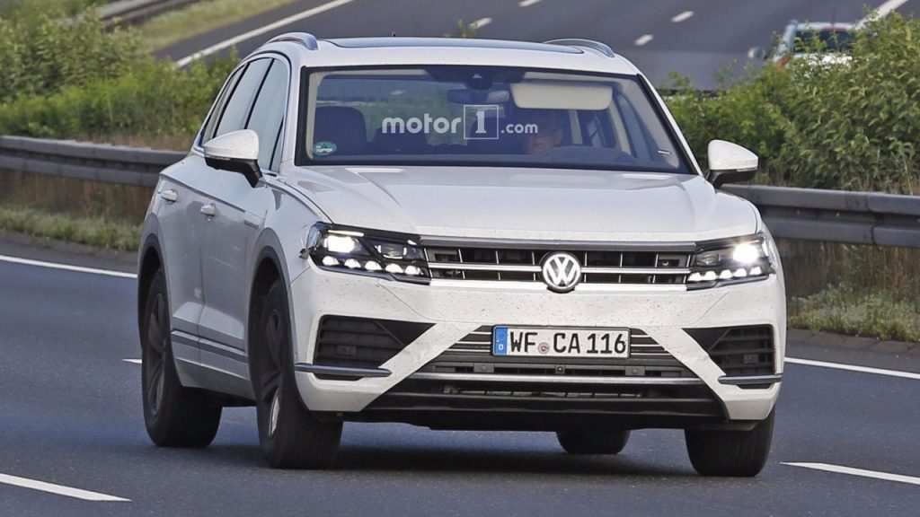 33 Great VW Touareg 2020 New Concept Spy Shoot for VW Touareg 2020 New Concept