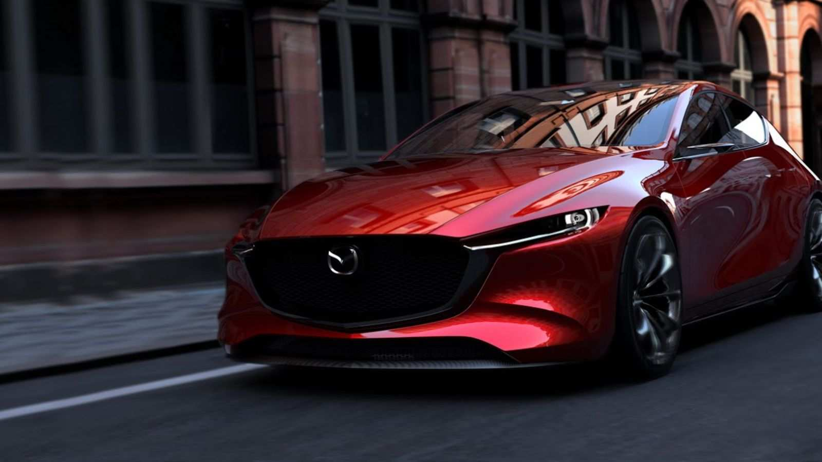 33 The 2020 Mazdaspeed 3 Exterior with 2020 Mazdaspeed 3