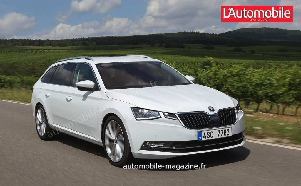 34 Concept of Spy Shots 2020 Skoda Superb History with Spy Shots 2020 Skoda Superb