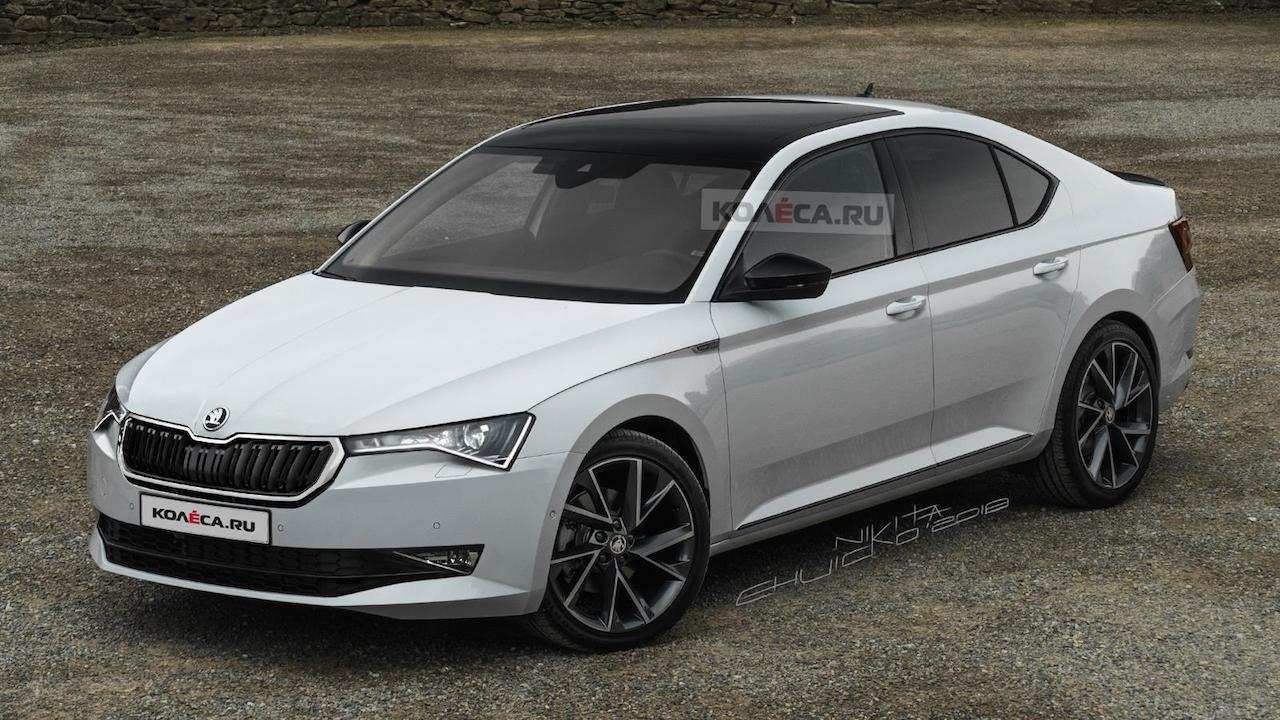 34 Gallery of 2020 Skoda Superb Concept by 2020 Skoda Superb