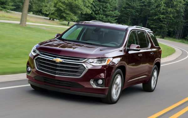 34 New 2020 Chevrolet Traverses Performance and New Engine by 2020 Chevrolet Traverses