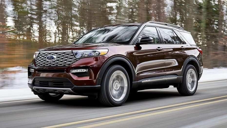 36 Great 2020 Ford Explorer Release Date with 2020 Ford Explorer