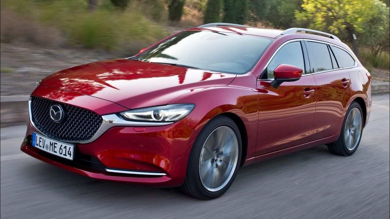 37 All New 2020 Mazda 6 Wagon Canada Exterior for 2020 Mazda 6 Wagon Canada