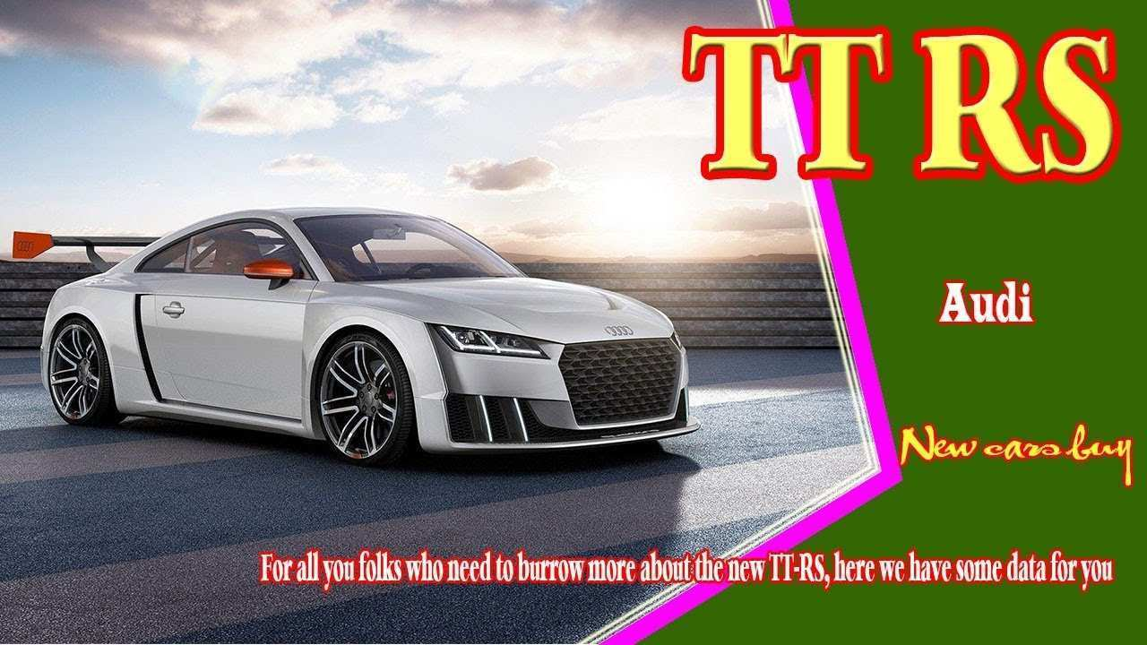 37 Concept of 2020 Audi TT Pricing with 2020 Audi TT
