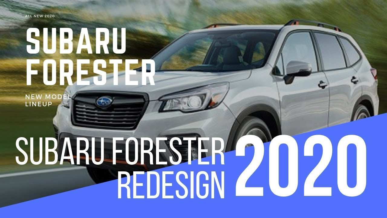 37 Great 2020 Subaru Forester Engine by 2020 Subaru Forester