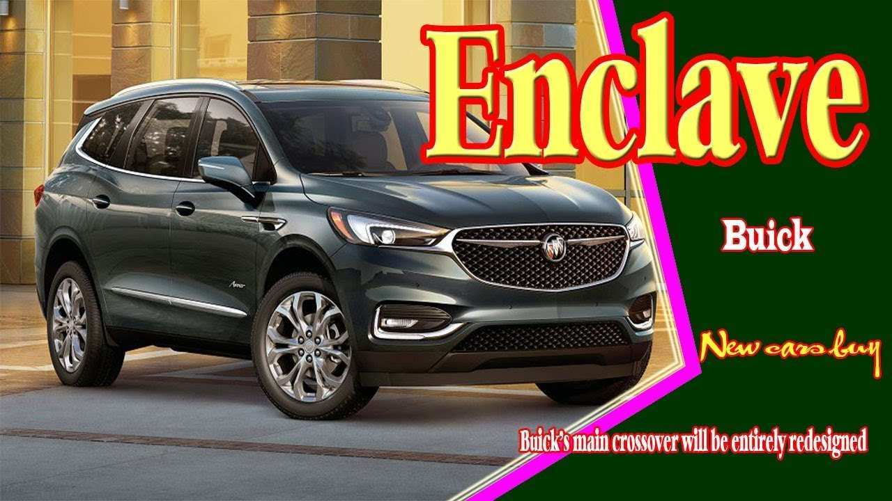 38 Concept of 2020 Buick Enclave Overview with 2020 Buick Enclave
