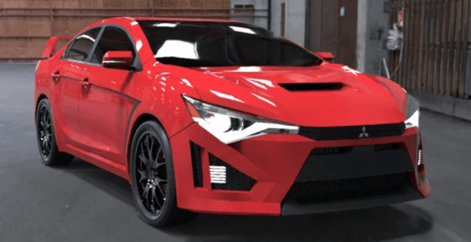38 Concept of 2020 Mitsubishi Evo Exterior for 2020 Mitsubishi Evo