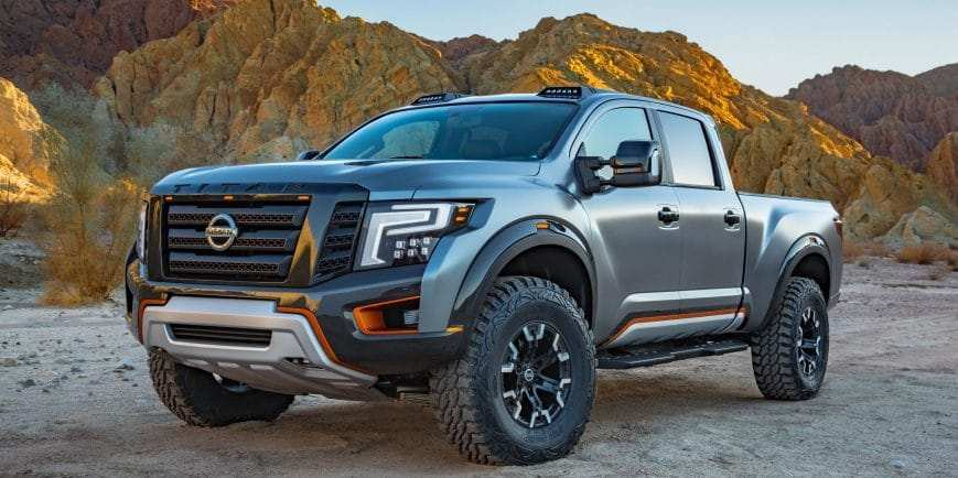 38 Great 2020 Nissan Titan New Concept Specs with 2020 Nissan Titan New Concept