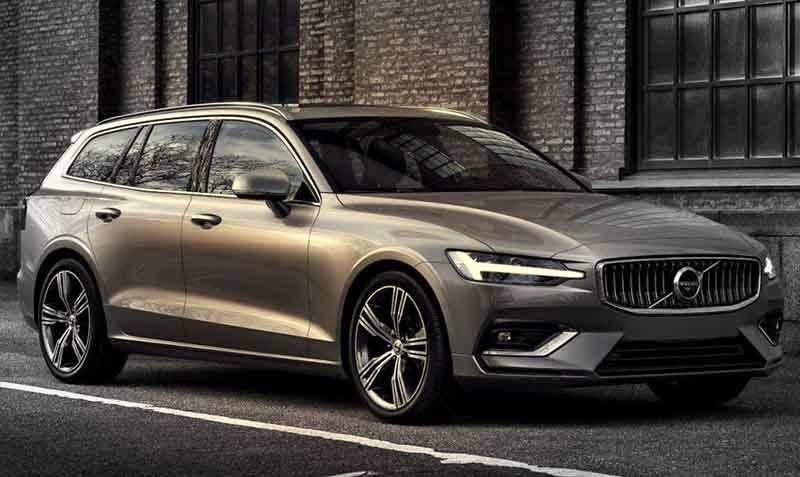 38 The Volvo Wagon 2020 Spy Shoot with Volvo Wagon 2020