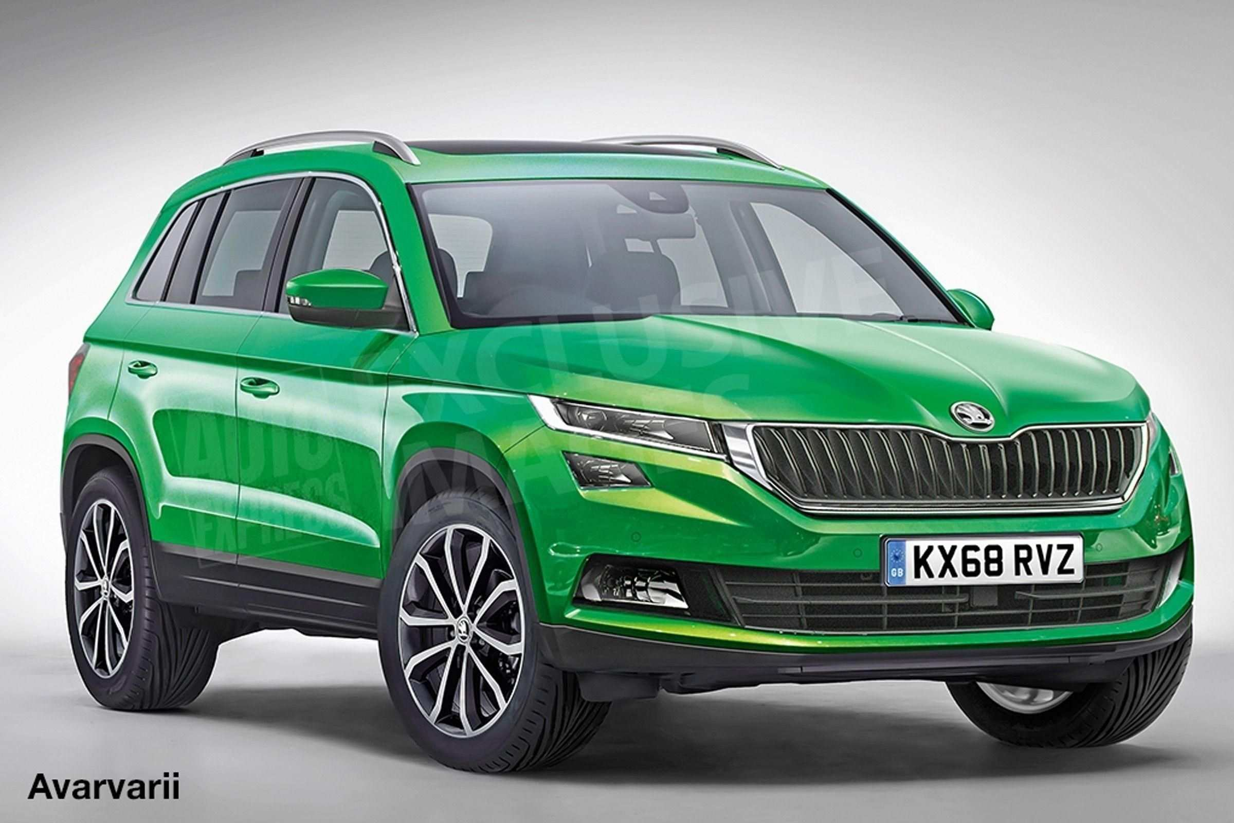 39 Concept of 2020 Skoda Snowman Full Preview Spy Shoot for 2020 Skoda Snowman Full Preview